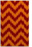rug #210437 |  orange popular rug
