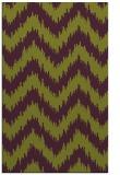 rug #210477 |  green stripes rug