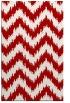 rug #210489    red stripes rug