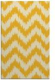 rug #210537 |  yellow rug