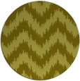 rug #210921 | round light-green rug