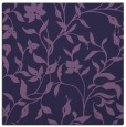 rug #213161   square purple natural rug