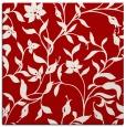 rug #213305 | square red natural rug