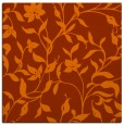 rug #213321   square red-orange popular rug