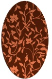 rug #213618   oval rug