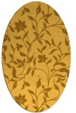 rug #213721   oval light-orange popular rug
