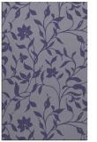 rug #213857    blue-violet natural rug