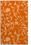 rug #214029 |  red-orange natural rug