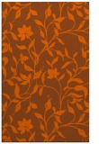 rug #214033 |  red-orange natural rug