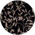 rug #214133 | round beige natural rug