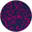 rug #214149   round pink natural rug