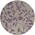 rug #214301 | round beige natural rug