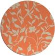 rug #214317 | round beige popular rug