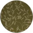 rug #214453 | round light-green natural rug