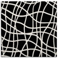 rug #218349 | square white check rug