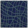 rug #218377 | square blue check rug