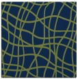 rug #218381 | square blue check rug