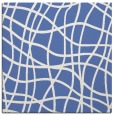 rug #218385 | square blue check rug