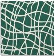 rug #218477 | square blue-green check rug