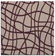 rug #218501   square pink check rug