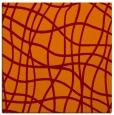 rug #218533 | square red-orange check rug