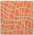 rug #218541   square orange check rug