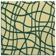 rug #218549 | square yellow stripes rug