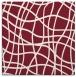 rug #218557   square pink check rug
