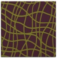 rug #218573 | square purple stripes rug