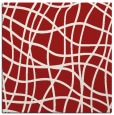 rug #218593 | square red check rug