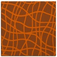rug #218609 | square red-orange rug