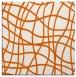 rug #218613   square red-orange check rug