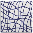 rug #218625 | square blue check rug