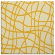 rug #218633 | square yellow check rug