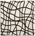 rug #218641 | square brown check rug