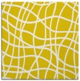 rug #218645 | square yellow stripes rug