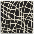 rug #218653 | square black check rug