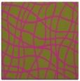 rug #218673 | square light-green check rug