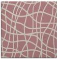 rug #218685   square pink check rug