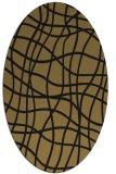 rug #218718   oval check rug