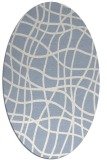 rug #218739   oval check rug