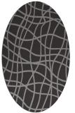 rug #218744   oval check rug
