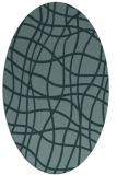 rug #218771   oval check rug