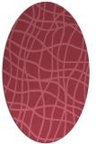 rug #218791   oval check rug