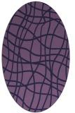 rug #218794   oval check rug