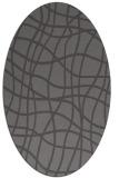rug #218846   oval check rug
