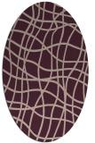 rug #218858   oval check rug