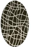 rug #218876   oval check rug