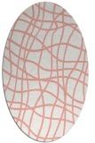 rug #218918 | oval check rug