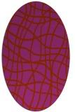 rug #218952   oval check rug